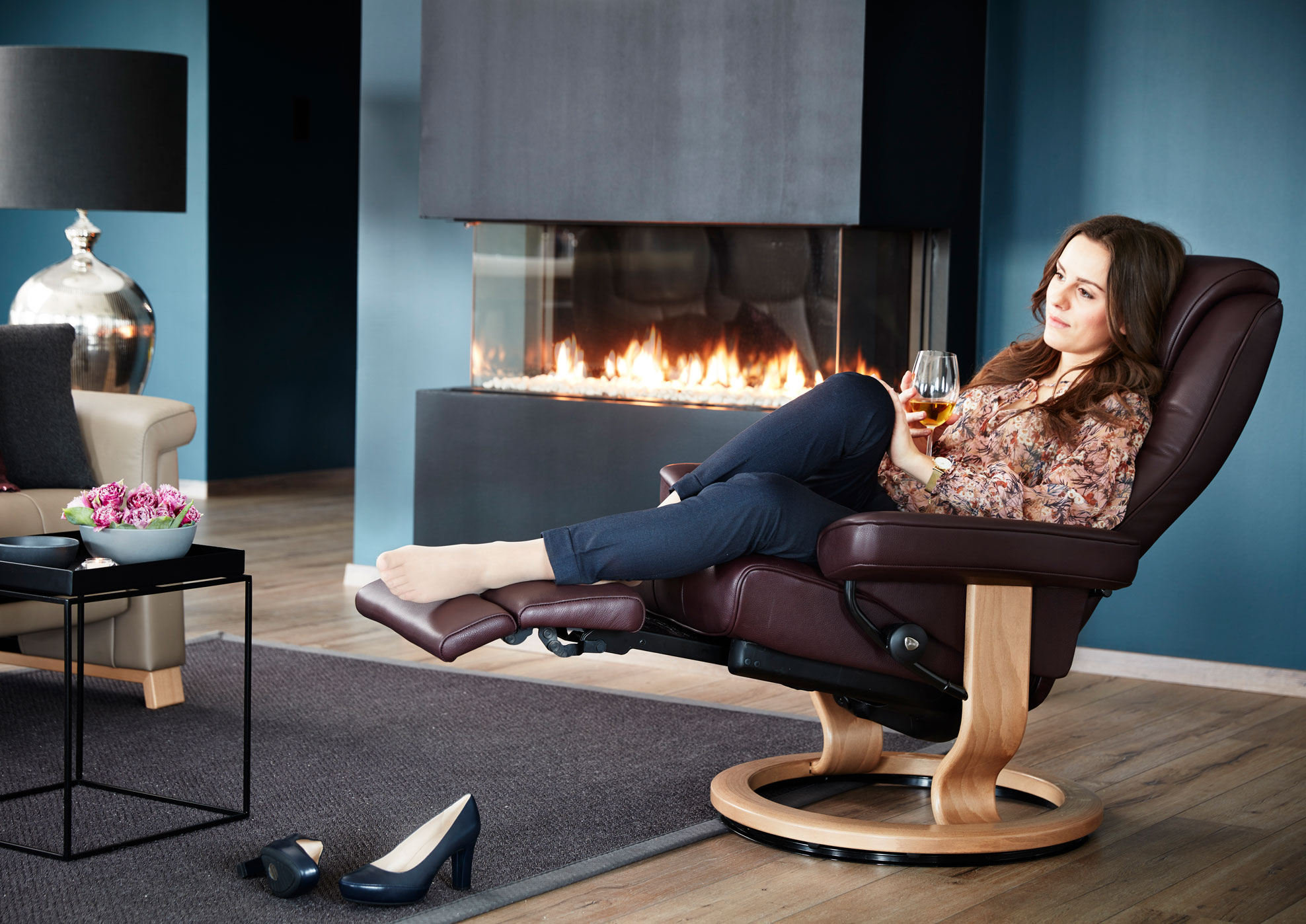 Legcomfort The Integrated Footrest By Stressless