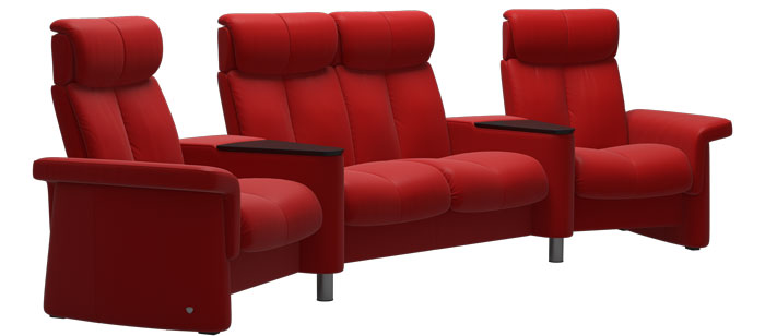 Home Theater Furniture Stressless Home Theater Sofas And