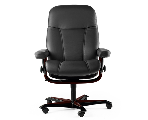 stressless home office bliss office chair black