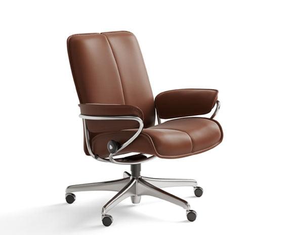 stressless city low back chair. Black Bedroom Furniture Sets. Home Design Ideas