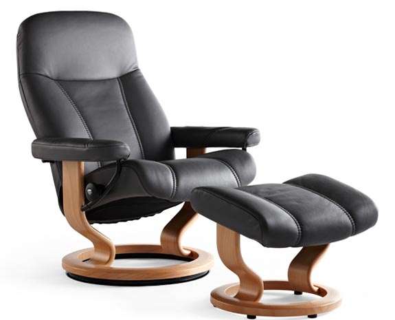 Relaxsessel stressless  Stressless Sessel Schmal: Stressless sunrise s m l de is.