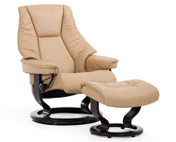 Stressless Live Classic chair  sc 1 st  Ekornes & Leather Recliner Chairs | Scandinavian Comfort Chairs | Recliners islam-shia.org
