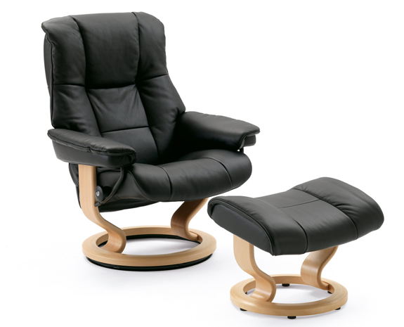 Leather recliner chairs stressless mayfair - Fauteuil relax ikea cuir ...