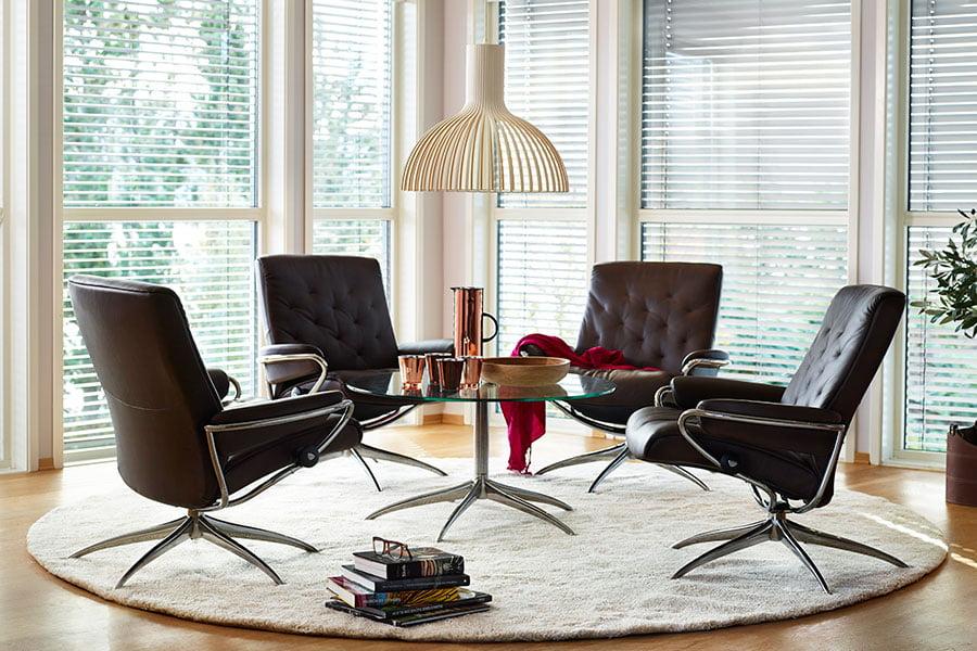 stressless metro low back chair stressless. Black Bedroom Furniture Sets. Home Design Ideas