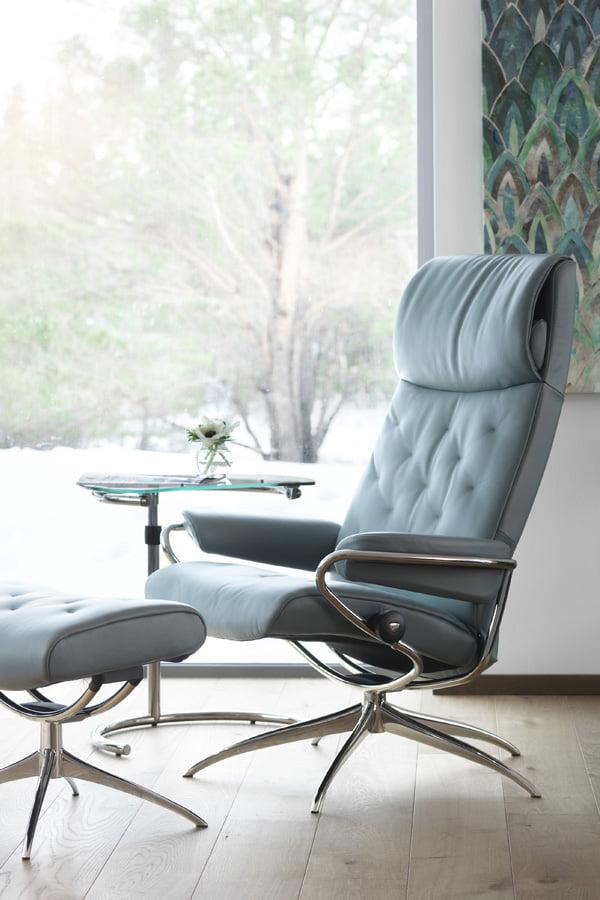fauteuil recliner stressless metro high back standard moderne confort stressless. Black Bedroom Furniture Sets. Home Design Ideas