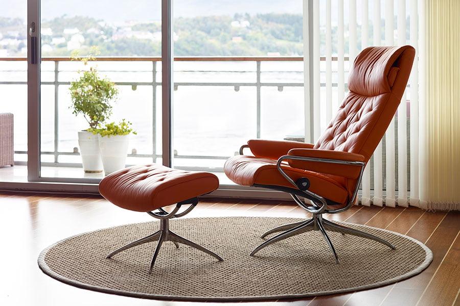 chaise de bureau confort stressless metro office high back moderne confort stressless. Black Bedroom Furniture Sets. Home Design Ideas