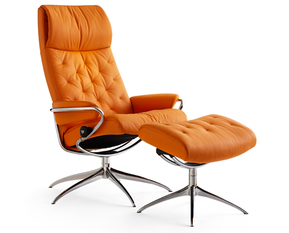 Stressless Metro chair high back whigh base  sc 1 st  Ekornes & Leather Recliner Chairs | Scandinavian Comfort Chairs | Recliners islam-shia.org