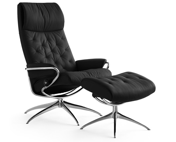 Stressless Metro chair high back std base  sc 1 st  Ekornes & Leather Recliner Chairs | Scandinavian Comfort Chairs | Recliners islam-shia.org