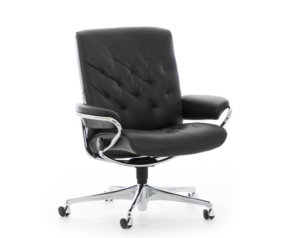 office chairs | ergonomic leather office chairs from stressless