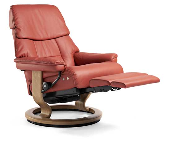 Stressless Ruby Classic LegComfort  sc 1 st  Ekornes & Leather Recliner Chairs | Scandinavian Comfort Chairs | Recliners islam-shia.org