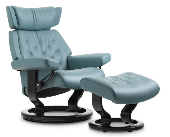 Stressless Skyline Classic chair  sc 1 st  Ekornes & Leather Recliner Chairs | Scandinavian Comfort Chairs | Recliners islam-shia.org