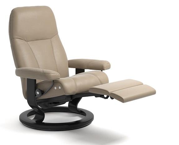 Stressless sessel metro : Leather recliner chairs scandinavian comfort recliners