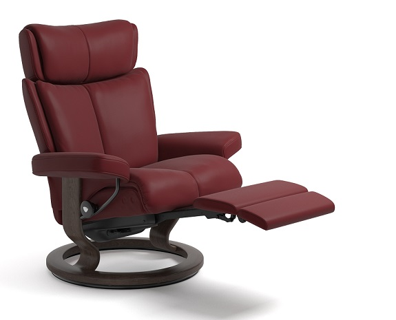 Stressless Magic Leather Recliner Chairs