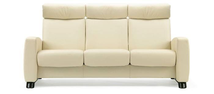 stressless arion highback sofa modern recliner leather sofa. Black Bedroom Furniture Sets. Home Design Ideas
