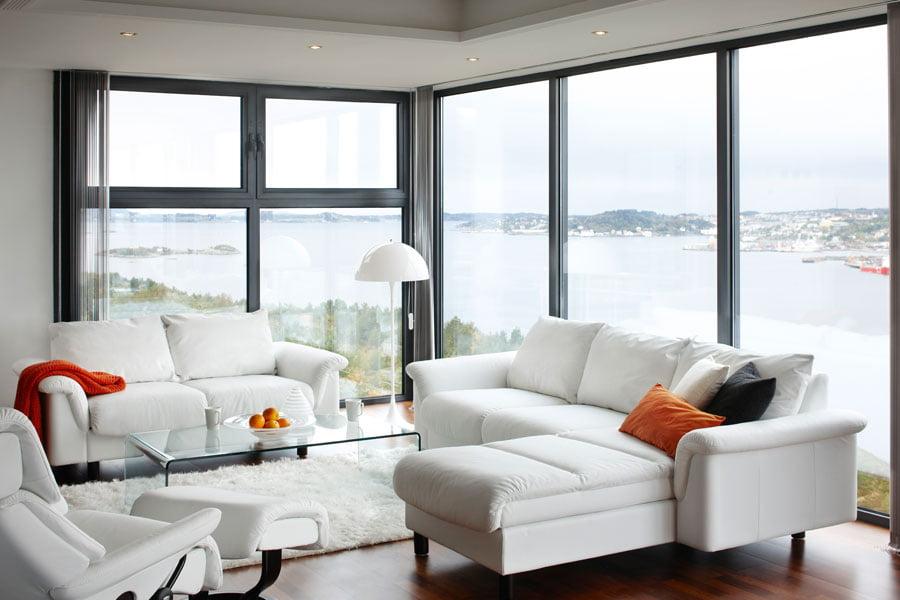 stressless e300 modern recliner leather sofa. Black Bedroom Furniture Sets. Home Design Ideas