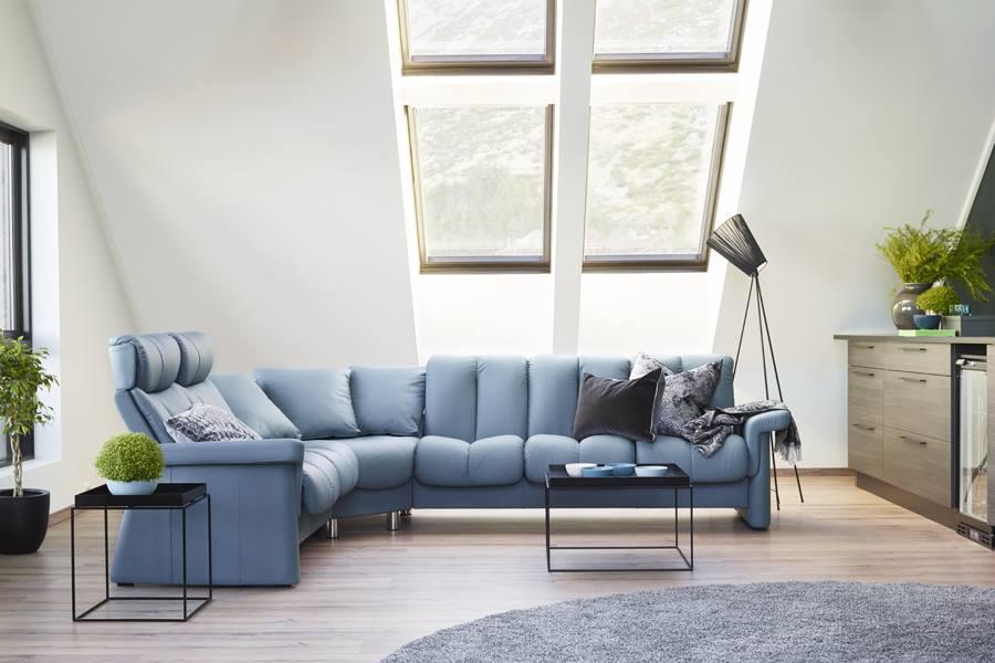 stressless legend high back 3 seater sofa stressless. Black Bedroom Furniture Sets. Home Design Ideas