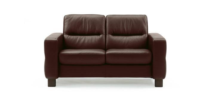 stressless wave lowback sofa