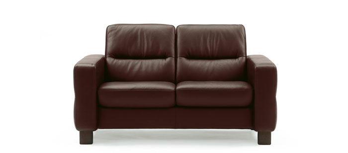 Stressless Wave 2 Seater Low Back