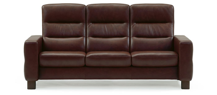 Stressless Wave Highback Sofa Modern Recliner Leather Sofa - High sofa