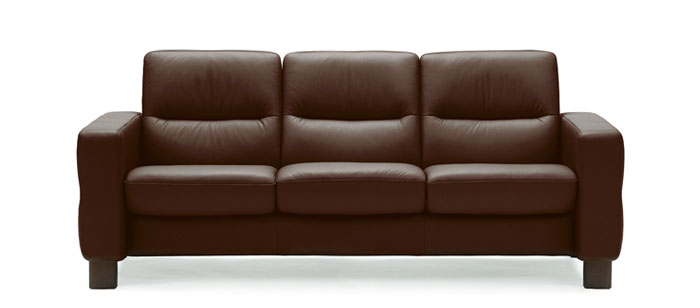 Perfect Stressless Wave 3 Seater Low Back