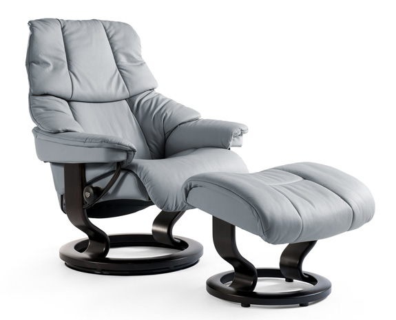 stressless tampa leather recliner chair. Black Bedroom Furniture Sets. Home Design Ideas
